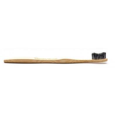 The Humble Co. Adult Vegan Bamboo Toothbrush Black Soft 1 pcs