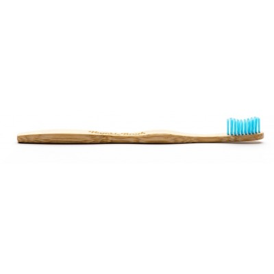 The Humble Co. Humble Brush Bambuinen hammasharja aikuisille Sininen Soft 1 kpl
