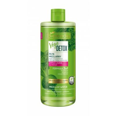 Bielenda Vege Detox Beetroot & Kale Micellar 500 ml