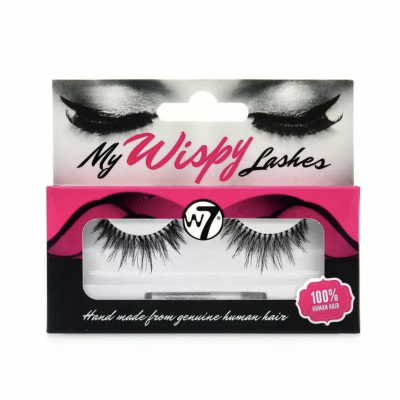 W7 Wispy Lashes WL14 1 par