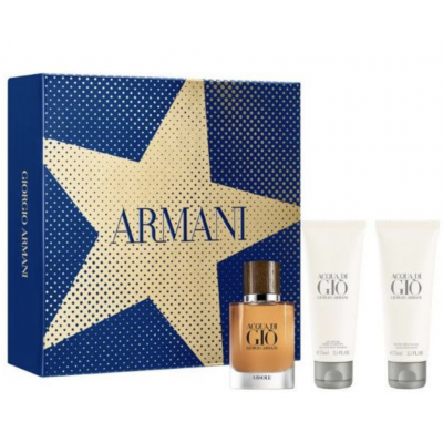 Giorgio Armani Acqua Di Gio Absolu EDP & Shower Gel & Aftershave Balm 40 ml + 75 ml + 75 ml