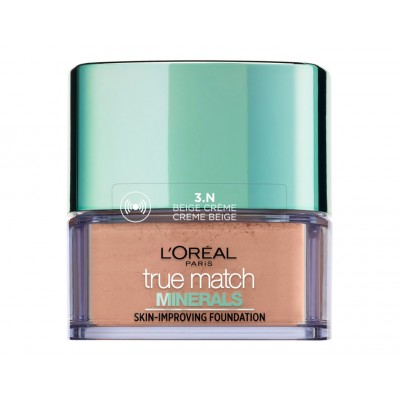 L'Oreal True Match Minerals Skin-Improving Foundation 3N Creme Beige 10 g