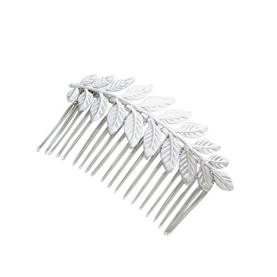 Everneed Ester Silver Hair Comb 9 cm