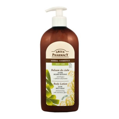 Green Pharmacy Aloe & Rice Milk Body Lotion 500 ml