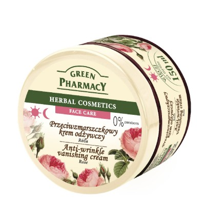 Green Pharmacy Rose Anti-Wrinkle Vanishing Cream 150 ml