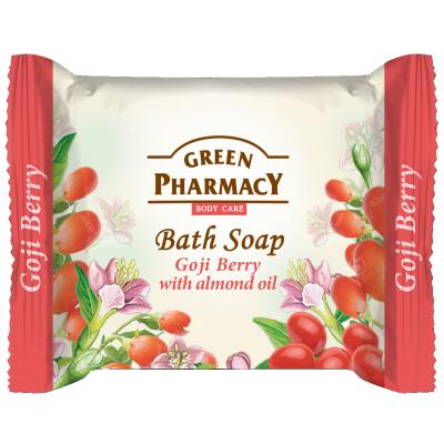 Green Pharmacy Goji Berry & Almond Oil Bath Soap 100 g