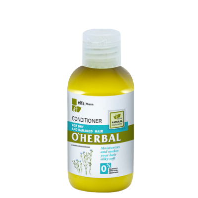 O'Herbal Dry & Damaged Hair Flax Extract Conditioner 75 ml
