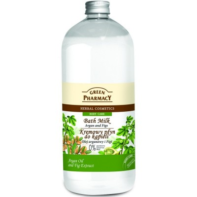 Green Pharmacy Argan & Figs Bath Milk 1000 ml