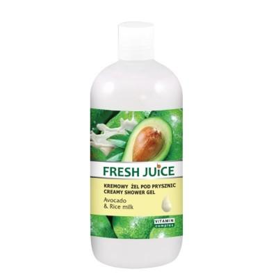 Fresh Juice Avocado & Rice Milk Shower Gel 500 ml