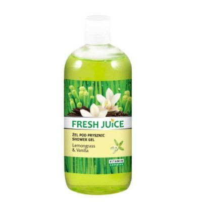 Fresh Juice Lemongrass & Vanilla Shower Gel 500 ml