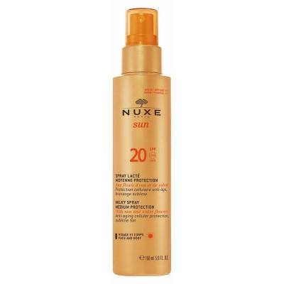 Nuxe Sun Milky Spray Medium Protection SPF20 150 ml