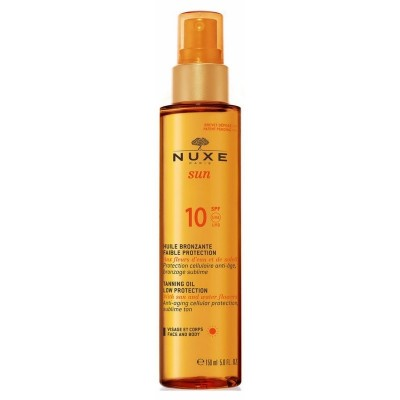Nuxe Sun Tanning Oil Low Protection SPF10 150 ml