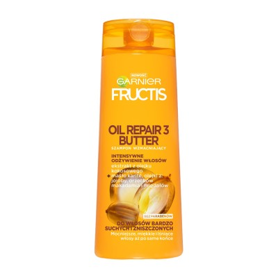 Garnier Fructis Oil Repair 3 Butter Shampoo 400 ml