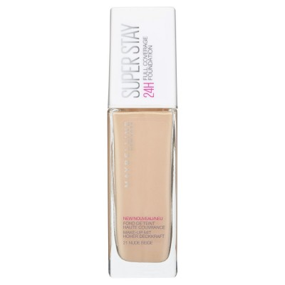 Maybelline Superstay Full Coverage Foundation 21 Nude Beige 30 ml