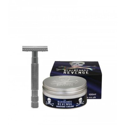 The Bluebeards Revenge Shaving Cream & Cutlass Kit 100 ml + 1 stk