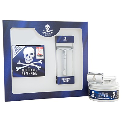 The Bluebeards Revenge Shaving Cream & Scimitar Kit 100 ml + 1 stk