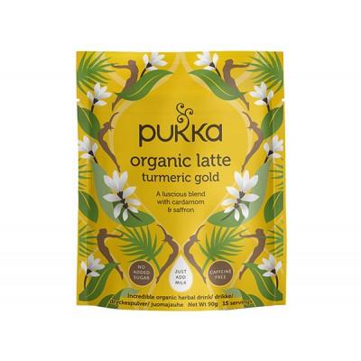 Pukka Latte Turmeric Gold Øko 90 g