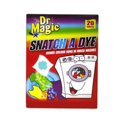 Dr Magic Snatch A Dye Sheets 20 pcs