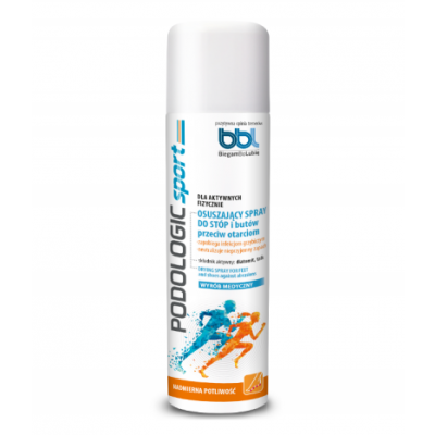Podologic Sport Drying Foot & Shoe Spray Against Abrasions 150 ml