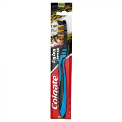Colgate Zig Zag Charcoal Toothbrush Medium 1 st
