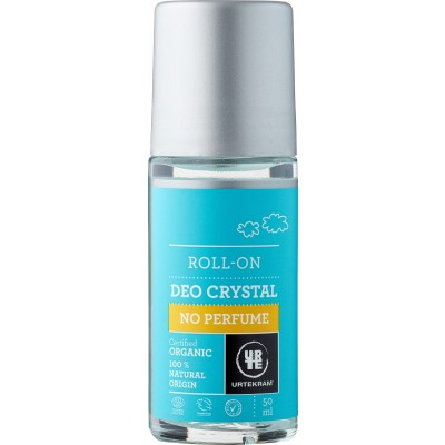 Urtekram No Perfume Deo Crystal Roll On 50 ml