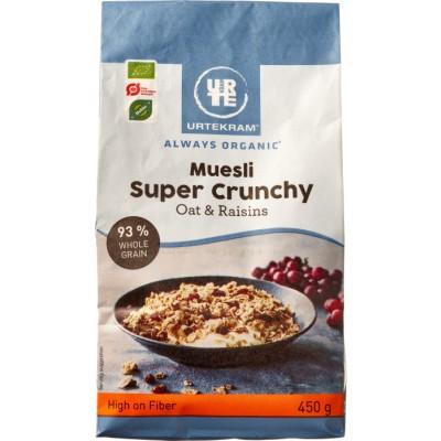 Urtekram Super Crunchy Mysli Øko 450 g