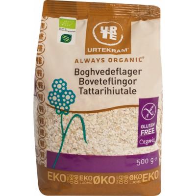Urtekram Buckwheat Flakes Eco 500 g