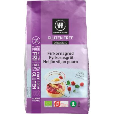Urtekram Gluteeniton neljän viljän puuro luomu 700 g