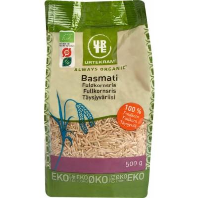 Urtekram Basmati täysjyväriisi luomu 500 g