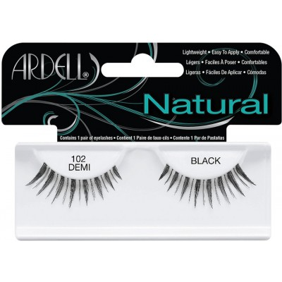 Ardell Natural Lashes 102 Demi Black 1 pair