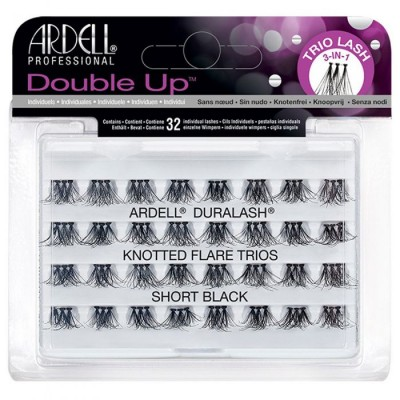 Ardell Double Up Trio Lashes Short Black 32 kpl