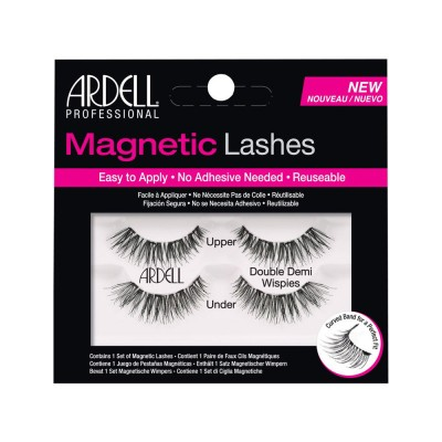 Ardell Magnetic Accents Lashes Double Demi Wispies Black 2 paria