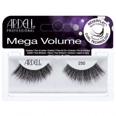Ardell Mega Volume Lashes 250 Black 1 pair