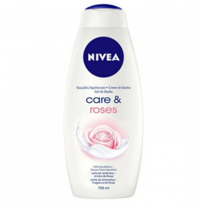 Nivea Care & Roses Body Wash 750 ml