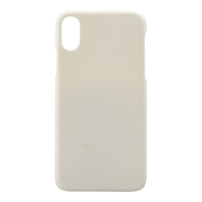 BasicsMobile Hard Cover White iPhone X iPhone X
