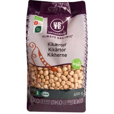 Urtekram Kikerter Eco 400 g