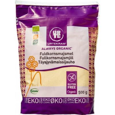 Urtekram Whole Grain Corn Flour Eco 500 g