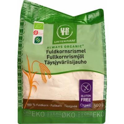 Urtekram Whole Grain Rice Flour Eco 500 g