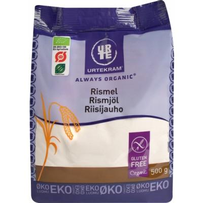 Urtekram Rice Flour Gluten-Free Eco 500 g