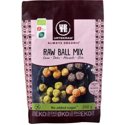 Urtekram Raw Ball Mix Eco 200 g