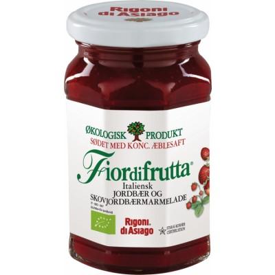 Rigoni di Asiago Jordbær & Skovjordbærmarmelade Øko 250 g