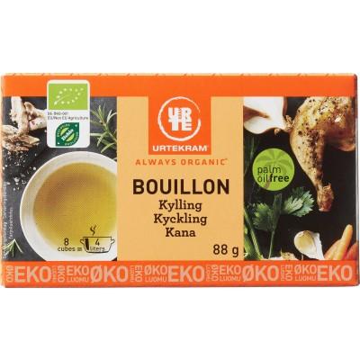 Urtekram Bouillon Kylling Øko 8 x 11 g