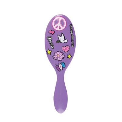 The Wet Brush Detangle Decals Peace 1 stk