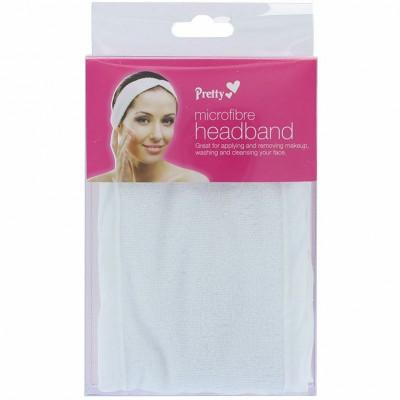Pretty Microfibre Headband White 1 stk