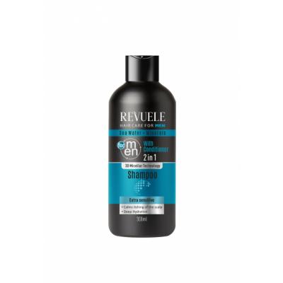 Revuele Men Seawater & Minerals 2in1 Shampoo 300 ml