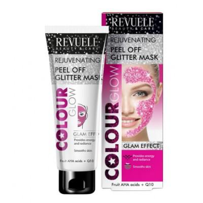 Revuele Rejuvenating Peel Off Glitter Mask Pink 80 ml