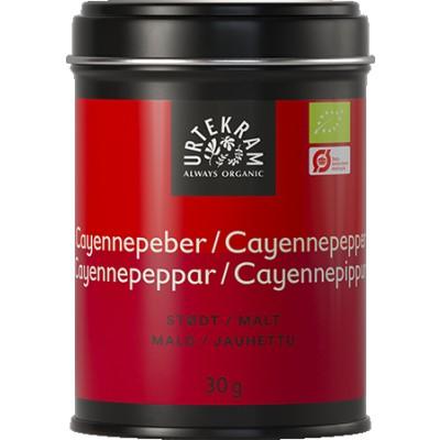 Urtekram Cayennepeper Eco 30 g