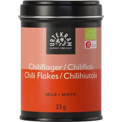 Urtekram Chiliflager Øko 23 g