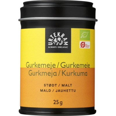 Urtekram Gurkemeje Øko 25 g