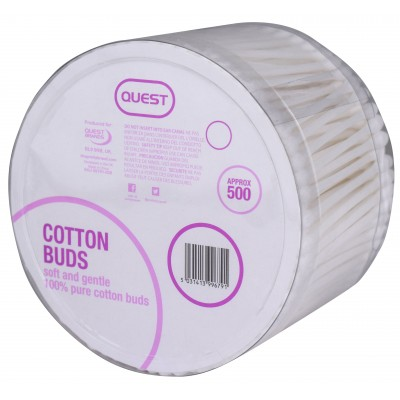 Quest Cotton Buds 500 stk